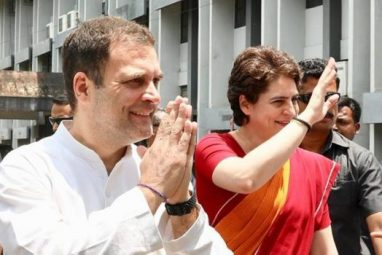 राहुल और प्रियंका गांधी